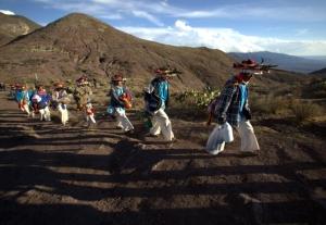 Pilgrimage of Native Wixaricas to Wirikuta