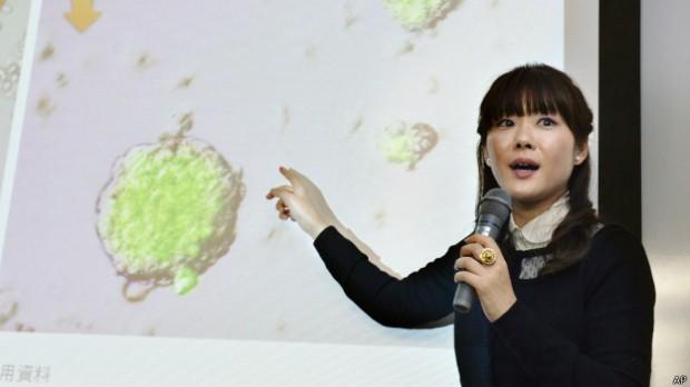 Haruko Obokata se convirtió en una celebridad en Japón tras la publicación de su cuestionado estudio.